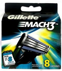 Gillette mach 3(Pack of 1)