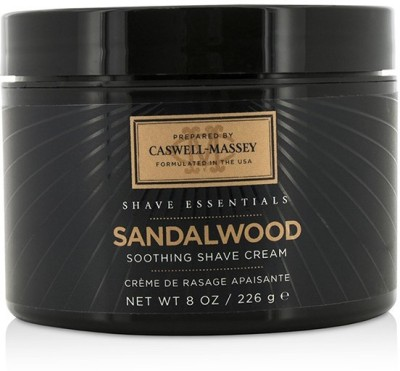 Caswell-Massey Sandalwood Soothing Shave Cream (Jar)(226 ml)