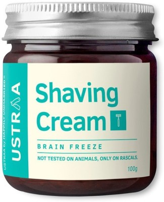 Ustraa By Happily Unmarried Shaving Cream-Brain Freeze(100 g)