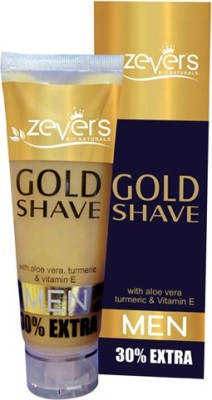 zever Gold Shave (with aloe-vera,turmeric & Vitamin E)
