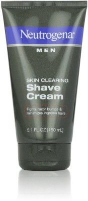 Neutrogena Men Skin Clearing Shave Cream(150 ml)