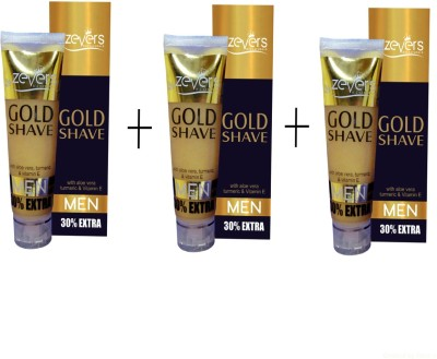 Zever Gold Shaving Cream with Aloe vera and Vitamin E