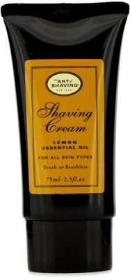 The Art Of Shaving Shaving Cream - Lemon Essential Oil(75 ml)