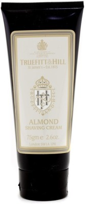 Truefitt & Hill Almond Shaving Cream (Travel Tube)(75 ml)
