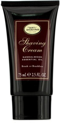 The Art Of Shaving Shaving Cream - Sandalwood Essential Oil(75 ml)