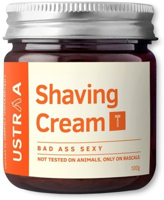 Ustraa By Happily Unmarried Shaving Cream- Badass sexy (100 g)(100 ml)