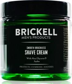 Brickell Men's Smooth Brushless Shave Cream