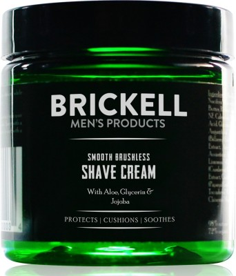 Brickell Men's Smooth Brushless Shave Cream(148 g)