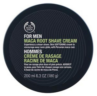 The Body Shop For Men Maca Root Shave Cream(200 ml)