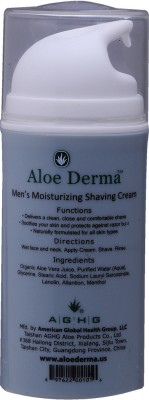 Aloe Derma Mens Moisturizing Shaving Cream