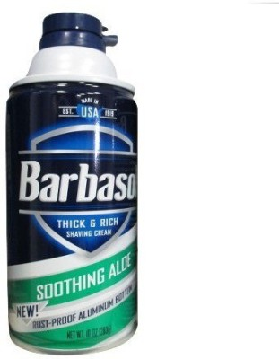 Barbasol Thick and Rich Shaving Cream For Men(283 g)
