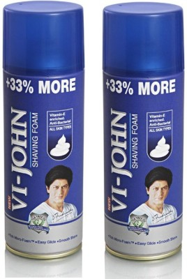 Vi-John Shaving Foam Combo (All Skin Type)