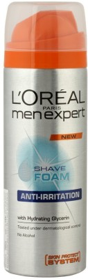 L,Oreal Paris Men Experts Anti-Irritation With Hydrating Glycerin Shave Foam