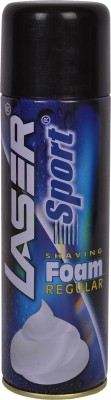 Laser Sport Shaving Foam Regular