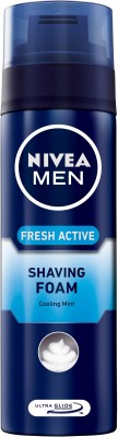 Nivea Fresh Active Shaving Foam(200 ml)