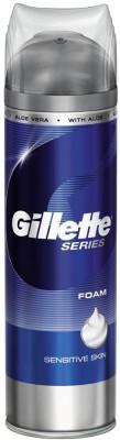 Gillette Sensitive Shaving Foam(200 ml)
