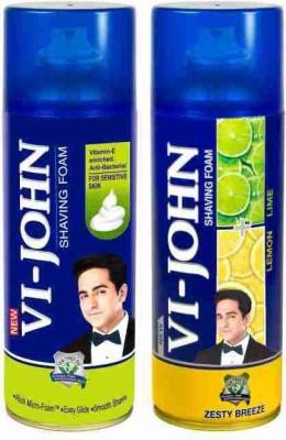 Vi-John Shave Foam Sensitive & Lemon Lime(800 g)