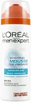 L,Oreal Paris Men Expert Hydra Sensitive Shaving Mousse(199 ml)
