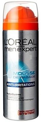 L,Oreal Paris Men Expert Anti-Irritations Shaving Mousse(199 ml)