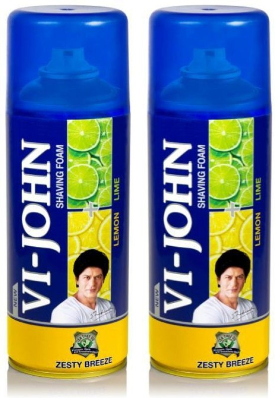 Vi-John Shave Foam Lemon & Lime(800 g)
