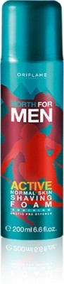 Oriflame Sweden North For Men Active Normal Skin Shaving Foam
