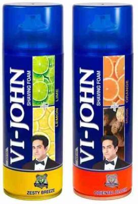 Vi-John Shave Foam Lemon Lime & Musk Orange(800 g)