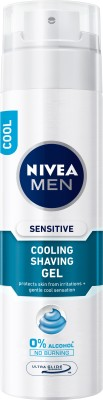 Nivea Sensitive Cooling Shaving Gel(200 ml)