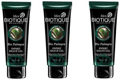 Biotique Bio Palmyra Expert Shave Gel ( Pack Of 3)