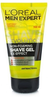 L ,Oreal Paris Men Expert Antibacterial Shave Gel