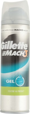 gillette Mach3 Close & Fresh Shave Gel