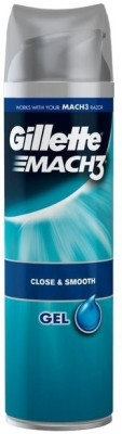 gillette Mach3 Close & Smooth Shave Gel