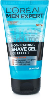 L ,Oreal Paris Men Expert Sensitive Shave Gel