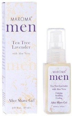 Maroma Auroville Men Tea Tree Lavender After Shave Gel
