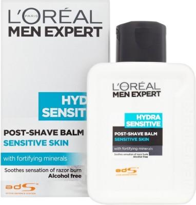 L,Oreal Paris Hydra Sensitive Post Shave Balm(99 ml)