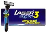 Laser Sport 3 Triple Blade Disposable Di...