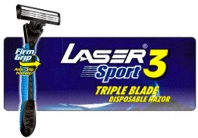Laser Sport 3 Triple Blade Disposable Razor