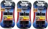 Super Max 3 SMX Cartridge Razors (3 Blad...