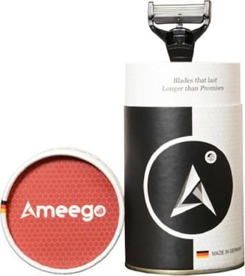 Ameego 5 Blade German Razor for Sensitive Skin Razor(1 Blades)