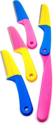 Out Of Box Women Eyebrow Facial Hair Epilator (Set of 4) Razor(4 Blades)