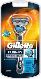 Gillette Fusion Proshield Chill shaver With Flexball Technology Razor