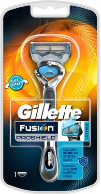 gillette Fusion Proshield Chill shaver With Flexball Technology Razor