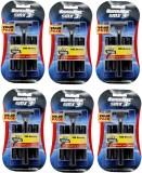 Super Max 3 SMX Cartridge Razors (6 Blad...