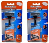 SuperMax Swift Razor Cartridge Razors (2...