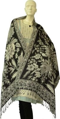 Jupi Wool Floral Print Women's Shawl