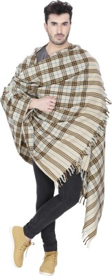 Indo Essence Wool Striped Men's Shawl