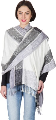 Shawl-e-Kashmir Viscose Self Design Women's Shawl