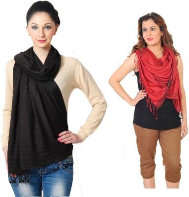 Aaanimation Viscose Woven Women's Shawl