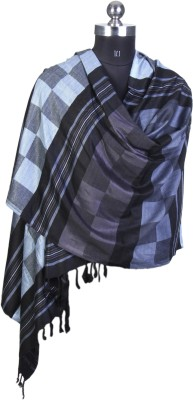 Kd Stoles N Scarfs Viscose Checkered Women's Shawl
