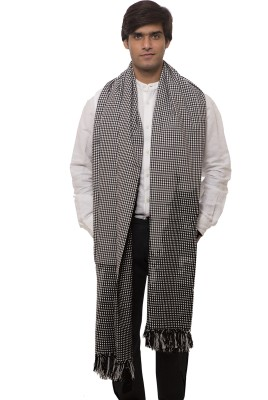 Platinum Studio Wool Checkered Men's Shawl