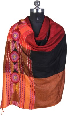 Kd Stoles N Scarfs Viscose Embroidered Women's Shawl